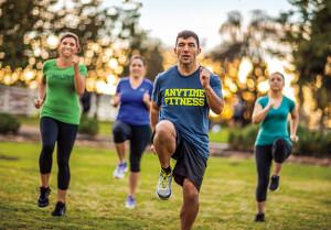 Knee Lifts at Workout Saturdays